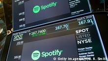 New York Börse Spotify IPO