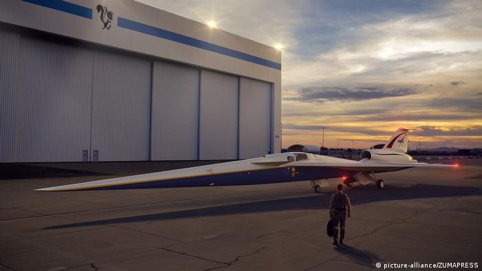 USA | NASA beauftragt Lockhead Martin mit Bau des X-Plane (picture-alliance/ZUMAPRESS)