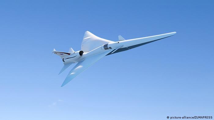 USA | Artist's concept of NASA X-Plane /ZUMAPRESS)