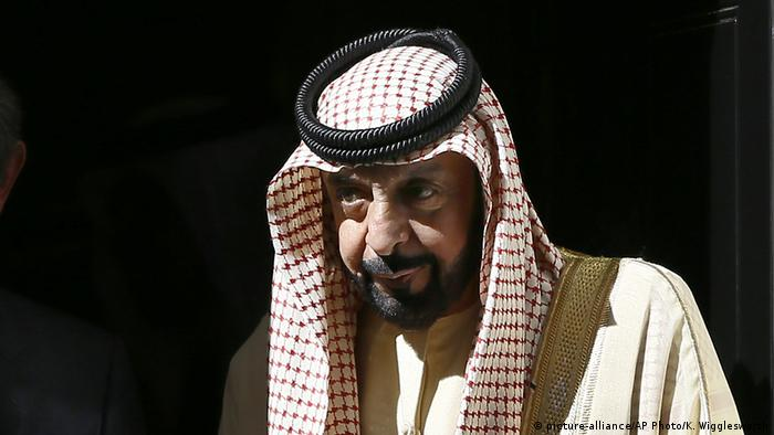 Khalifa bin Zayed Al Nahyan (picture-alliance/AP Photo/K. Wigglesworth)