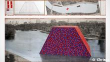 Christo The Mastaba Skizze London Hyde Park (Christo)