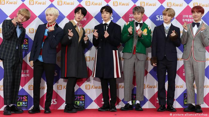 K-Pop Band BTS (picture-alliance/Yonhap)