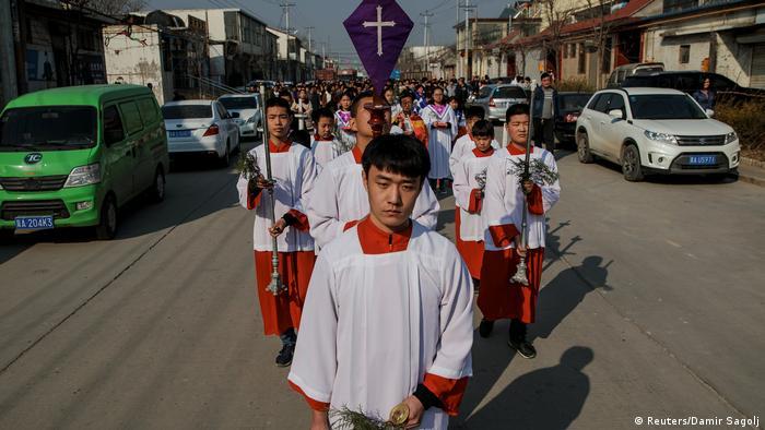 China Provinz Hebei Katholische Minderheit (Reuters/Damir Sagolj)