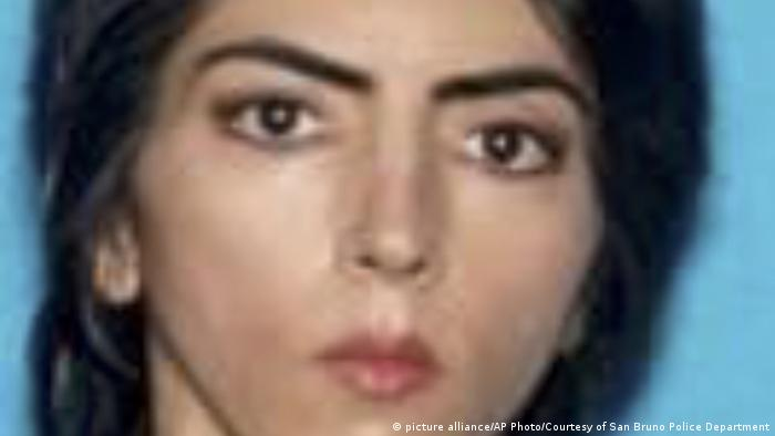 Nasim Aghdam (picture alliance/AP Photo/Courtesy of San Bruno Police Department)