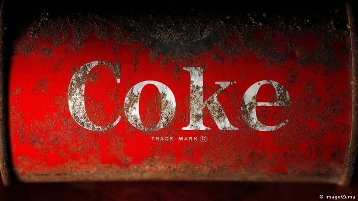 Alte Coca Cola Dose