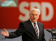El candidato socialdemócrata a la cancillería alemana, Frank-Walter Steinmeier.