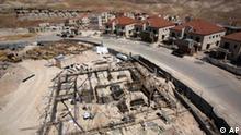 BdT Baustelle Siedlungen in der West Bank