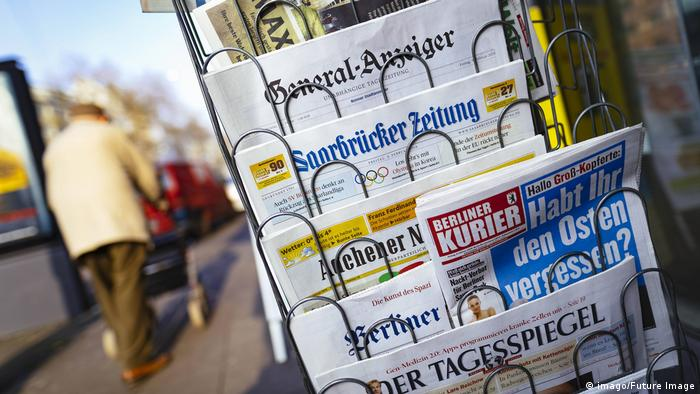 A selection of various German newspapers (imago/Future Image)