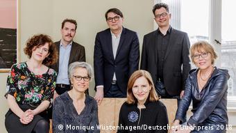 Die Jury des Deutschen Buchpreis 2018