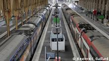 04.04.2018 A general view shows Nice railway station on the second day of a nationwide strike by French SNCF railway workers in Nice, France, April 4, 2018. REUTERS/Eric Gaillard