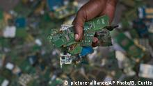 Kenia Nairobi Elektroabfall