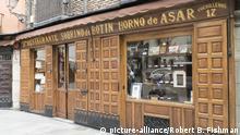 historisches Speiselokal Restaurante Sobrino de Botin in Madrid