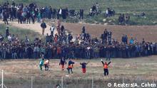 Palästina Proteste Gaza Streifen