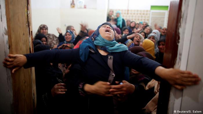 Palästina Proteste Gaza Streifen (Reuters/S. Salem)