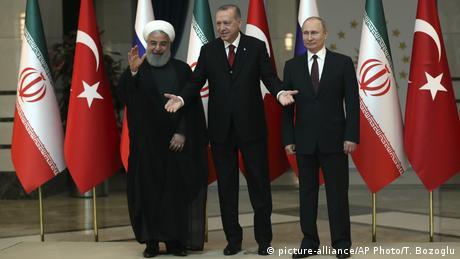 Το σόου Ερντογάν, Πούτιν και Ροχανί στην Άγκυρα
