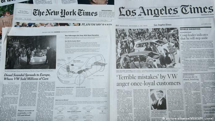 US newspapers (picture-alliance/abaca/H. Lionel)