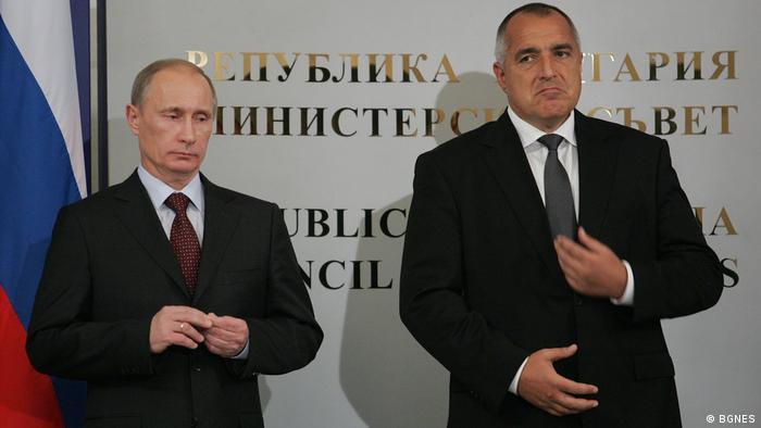 Снимка от 2010: Путин на посещение в София