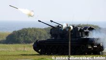 Todendorf Flugabwehrpanzer vom Typ Gepard