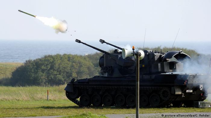 A picture of a German air defense system.