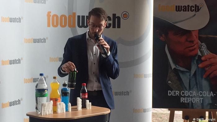 Deutschland Foodwatch Pressekonferenz zum Coca-Cola Report