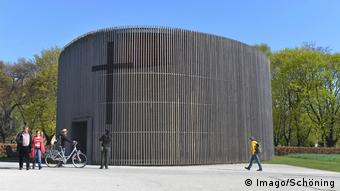 Berlin Bernauer Strasse Chapel of Reconciliation