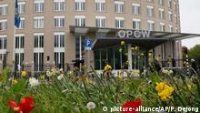 Niederlande OPCW Hauptgebäude in Den Haag