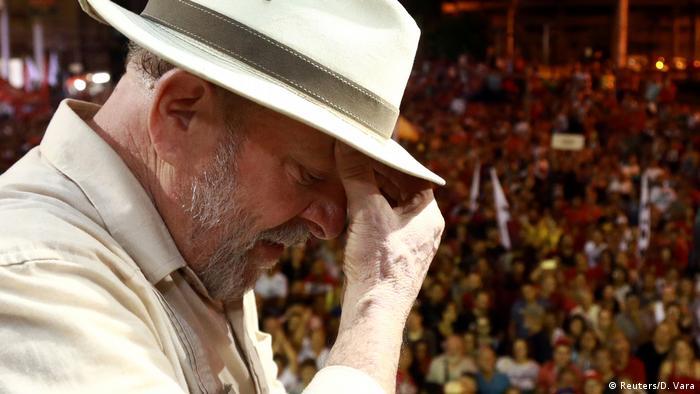 Brasilien Gerichtshof verhandelt über Haft von Ex-Präsident Lula (Reuters/D. Vara)