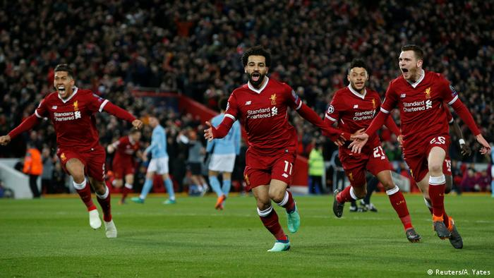 Champions League Liverpool vs Manchester City
