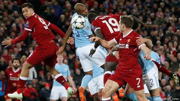 Champions League Liverpool vs Manchester City |