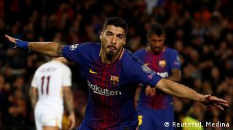 Champions League FC Barcelona vs AS Roma