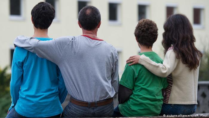 Deutschland Flüchtlinge Thema Familiennachzug (picture-alliance/dpa/P. Pleul)