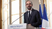 Frankreich Edouard Philippe, Ministerpräsident in Paris