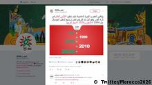 Screenshot Twitter Morocco2026