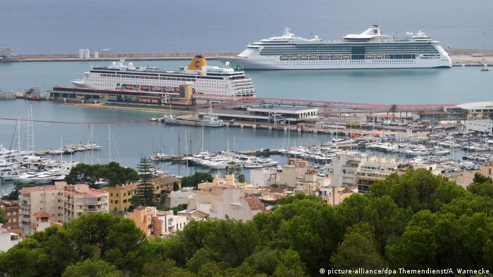 Port in Palma, Mallorca