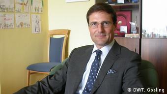 Внефракционный депутат Европарламента Мартон Дёндёши из Венгрии