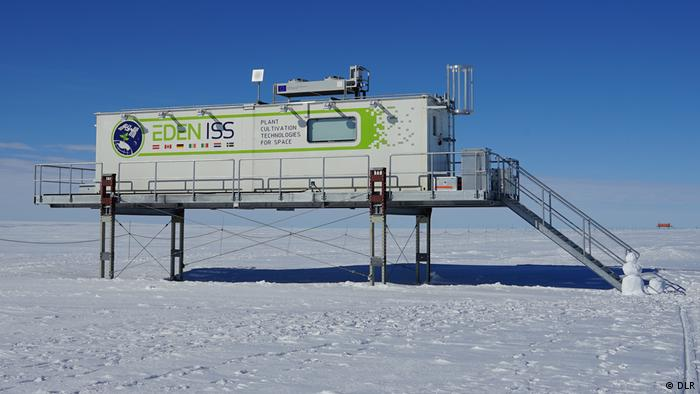 The EDEN-ISS greenhouse in Antarctica (DLR)