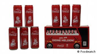 Рекламная кампания Coca-Cola 2016 года с портретами футболистов сборной Германии