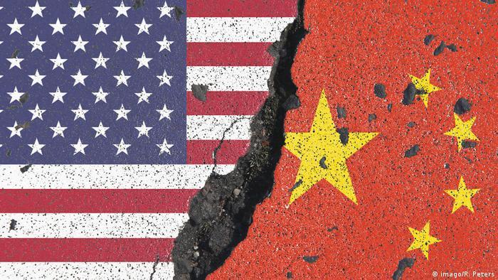 Symbolbild zur drohenden Zuspitzung des Handelskrieg s zwischen den Vereinigten Staaten von Amerika (imago/R. Peters)