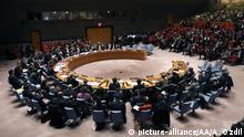 UN | Sitzung UN Sicherheitsrat