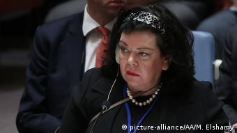 İngiltere'nin BM'deki temsilcesi Karen Pierce