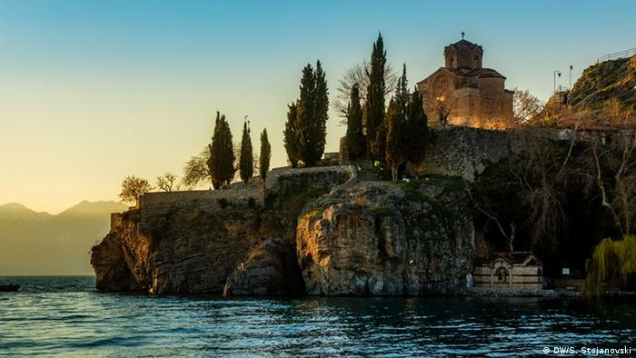 Kirche St. John Kaneo Ohrid (DW/S. Stojanovski)