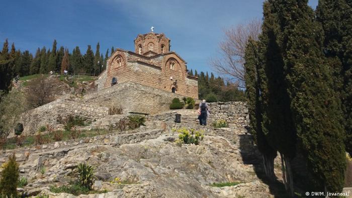 Kirche St. John Kaneo Ohrid (DW/M. Jovanoski)