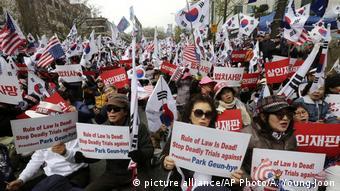 South Korea Corruption Scandal (picture alliance/AP Photo/A. Young-Joon)