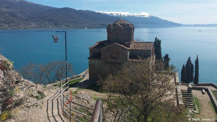 Kirche St. John Kaneo Ohrid