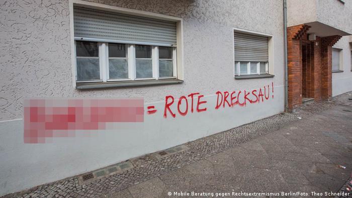 Mobile Beratung gegen Rechtsextremismus Berlin | rechtsextreme Wandbemalungen