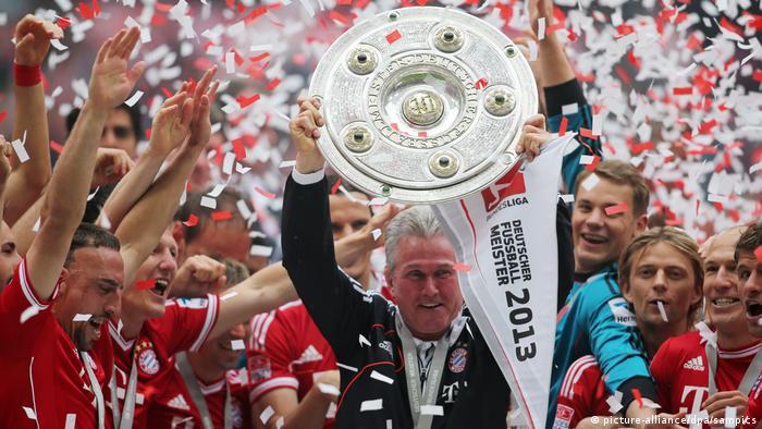 Jupp Heynckes feliz.