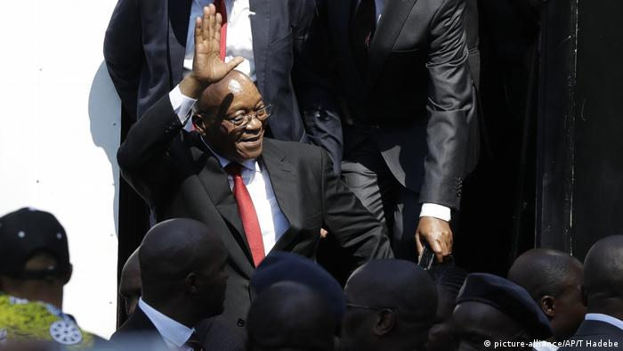 Jacob Zuma Durban Südafrika (picture-alliance/AP/T Hadebe)