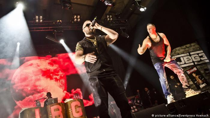 Konzert Kollegah und Farid Bang Berlin (picture-alliance/Eventpress Hoensch)