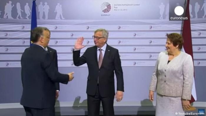 Juncker and Orban