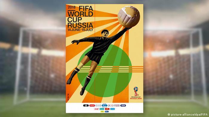Offizielles Poster für Fußball-WM in Russland (picture-alliance/dpa/FIFA)